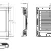 """PAN352 17"""" LCD Fanless Touch Panel PC-1117"""