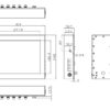"""PAN268 12.1"""" LCD Wide Temperature Fanless Touch Panel PC-2064"""