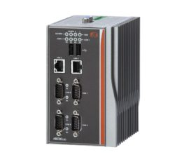 Wide Temperature Fanless Embedded System, Intel Atom Z510PT Processor, 1 GB DDR2 RAM, 1x Compact Flash, 1x VGA, 4x COM, 2x USB, Windows 7 Professional front