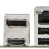 5x PCI; 1x PCIex16; 1x PCIex1 LGA155 motherboard rear i/o