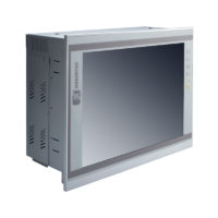 "PAN414 12.1"" LCD Slim Touch Panel PC Left"