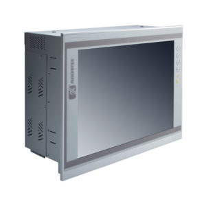 """PAN414 12.1"""" LCD Slim Touch Panel PC Left"""