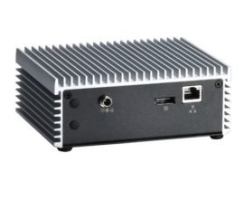 EBX423 Fanless Embedded System Rear View