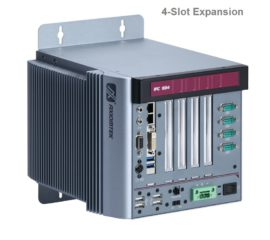 E230-4 Fanless Embedded System Front View