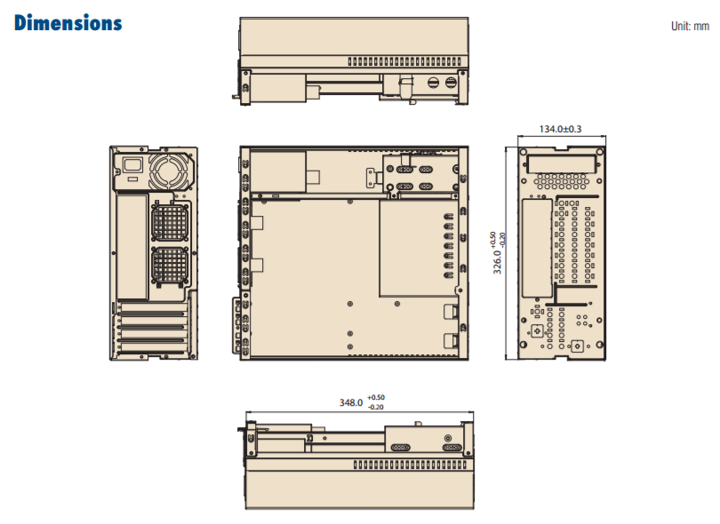 Desktop Chassis Diagram